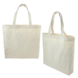 BG0839 - 12oz Nature Cotton Tote Bag