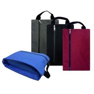 BG0846 Melange Nylon Shoe Bag