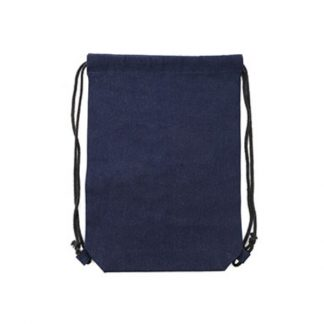 BG0933 Denim Drawstring Bag