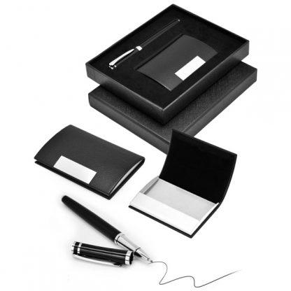 GFT0106 Card Holder & Metal Pen Set