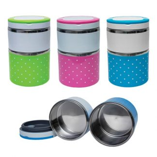 LSP0496 Airtight Lunch Box with Two Compartmentsx