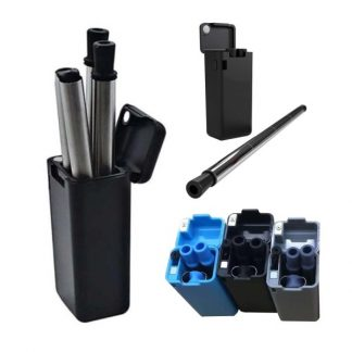 LSP0565 Collapsible Straw with Case