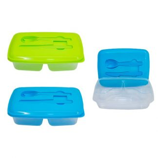 LSP0570 Lunch Box with knife & Fork