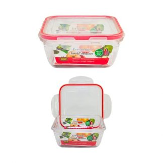 LSP0573 Square Lunch Box with Safety Lock