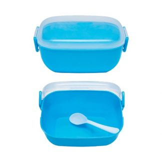 LSP0590 One Tier Lunch Box with Spoon