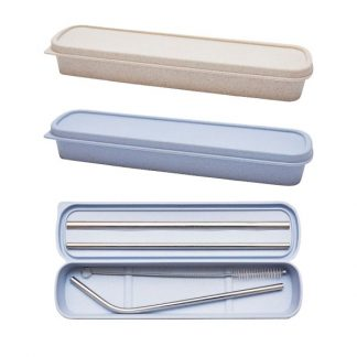 LSP0591 Stainless Steel 5pcs Straw Set in Box