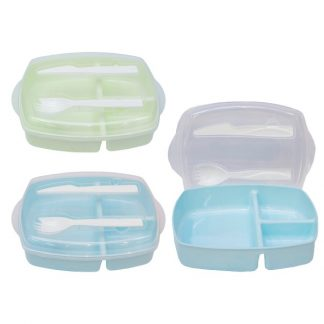 LSP0601 Lunch Box with Fork & Spoon