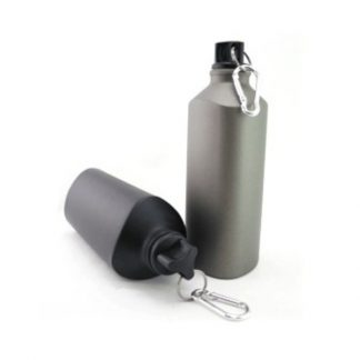 MGS0355 Triangular Aluminium Water Bottle - 600ml