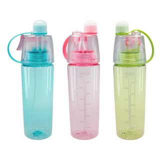 MGS0423 Mist Bottle with Leak-proof Silicone Cup and Spray - 600ml