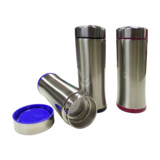 MGS0480 Stainless Steel Tumbler with Filter - 330ml