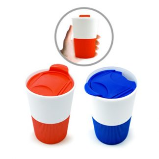 MGS0521 Ceramic Mug with Lid - 350ml
