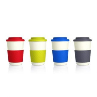 MGS0524 Geometric Bamboo Cup - 300ml