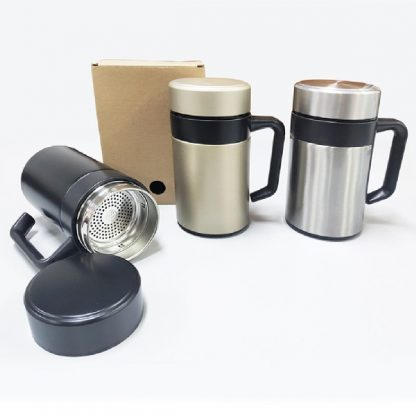 MGS0574 Double Wall Thermos Mug with Filter - 350ml