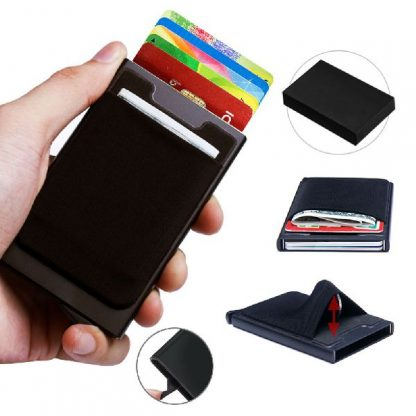 NCH0141 RFID Blocking Card Holder with Pouch