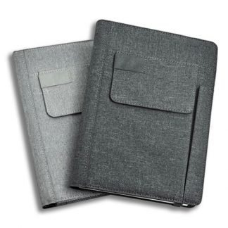 ORN0256 A5 Notebook with Front Pocket & Pen Slot