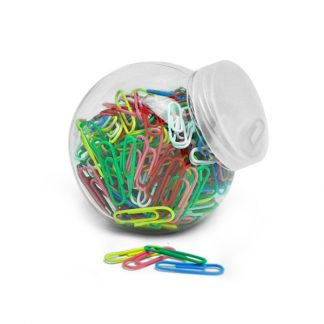 STA0636 Coloured Paper Clip in a Jar