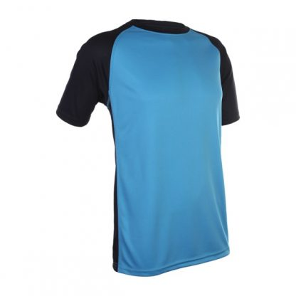 APP0093 Quick Dry Raglan T-shirt - Sea Blue/Navy