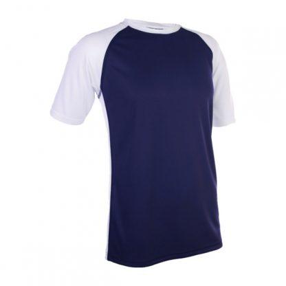APP0093 Quick Dry Raglan T-shirt - Navy/White