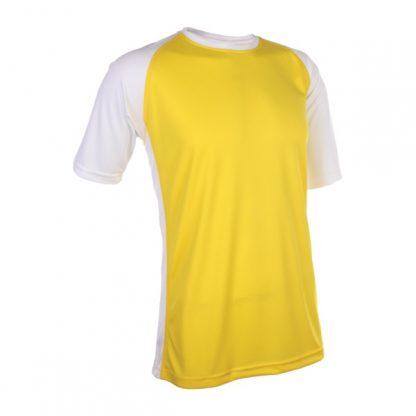 APP0093 Quick Dry Raglan T-shirt - Yellow/White