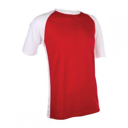 APP0093 Quick Dry Raglan T-shirt - Red/White