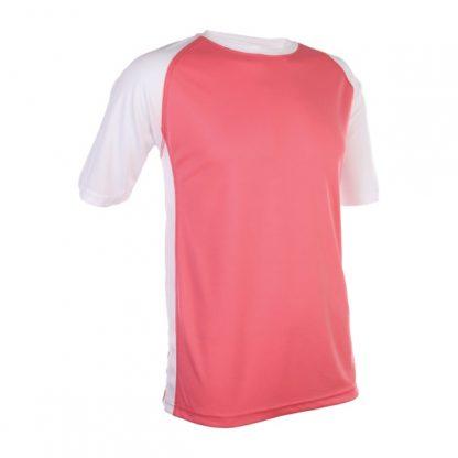 APP0093 Quick Dry Raglan T-shirt - Peach/White