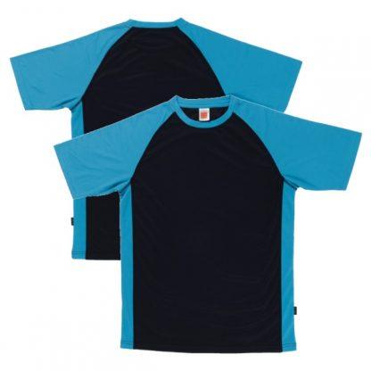 APP0093 Quick Dry Raglan T-shirt - Navy/Sea Blue