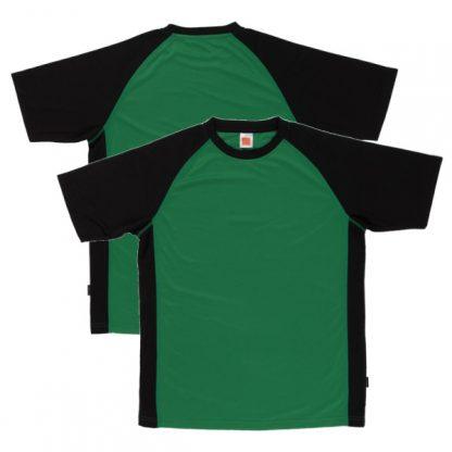 APP0093 Quick Dry Raglan T-shirt - Milo Green/Black