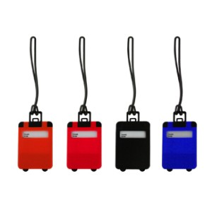 LSP0482 Frusted Luggage Tag