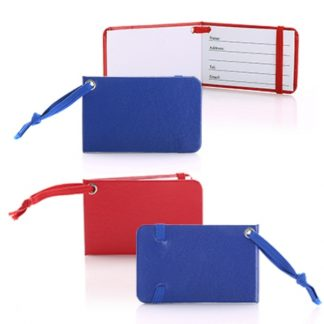 LSP0617 Leatherette Paper Luggage Tag