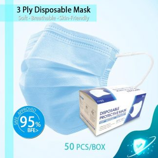 LSP0620 Adult 3-Ply Disposable Protective Mask