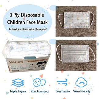 LSP0621 3-Ply Disposable Protective Children Face Mask
