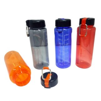 MGS0455 PC Bottle with Carabiner - 1000ml