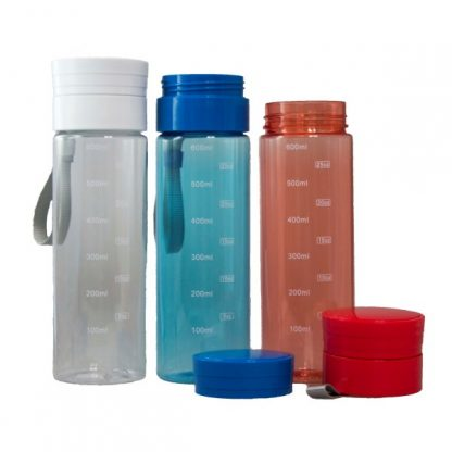MGS0473 Tritan Bottle with Carry Strap - 600ml