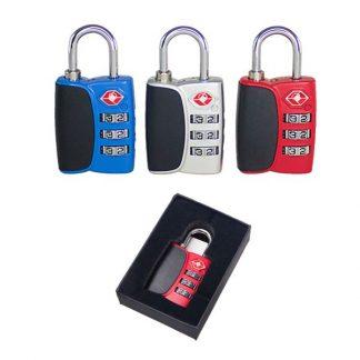 TT0334 3-Dial Combination TSA Padlock