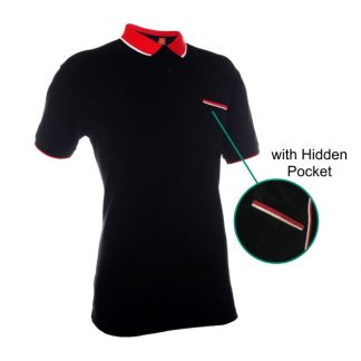 APP0108 Honey Comb Polo T-shirt with Hidden Pocket