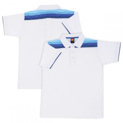 APP0124 Cotton Interlock Sublimation Printing Polo T-shirt