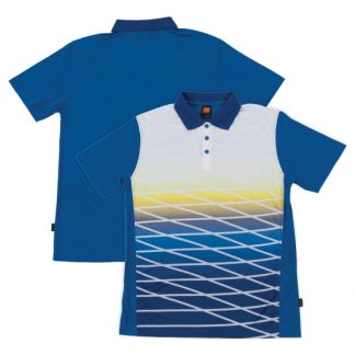 APP0129 Quick Dry Sublimation Printing Polo T-shirt - Royal