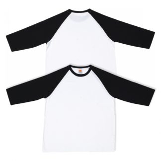 APP0133 Comfy Cotton Raglan 3/4 Sleeve T-shirt