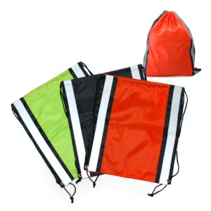 BG0692 Drawstring Bag with Reflective Panel