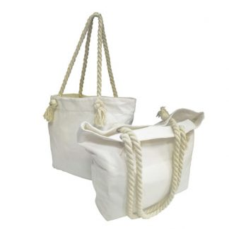 BG0736 Canvas Tote Bag with Rope Handles