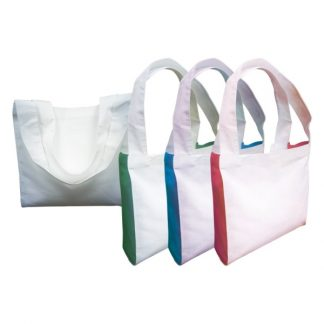 BG0848 - 2 Tone Cotton Canvas Tote Bag