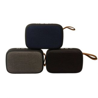 IT0479 Rectangular Fabric Portable Bluetooth Speaker