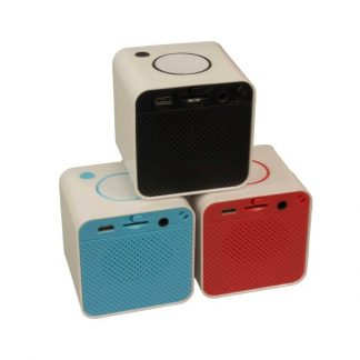 IT0482 Mini Cube Bluetooth Speaker