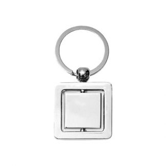 KEY0131 Square Spinning Keychain