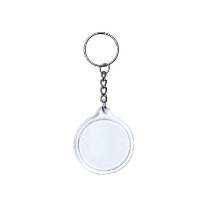 KEY0141 Acrylic Round Shape Keychain
