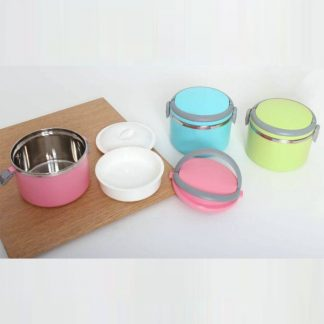 LSP0460 Two Layer Airtight Lunch Box with Spoon