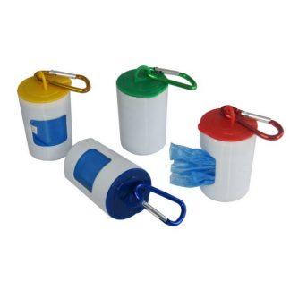 LSP0463 Disposable Bag in Rubbish Bin & Carabiner