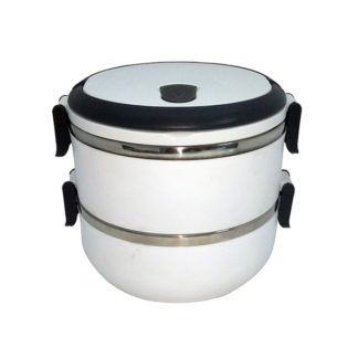 LSP0469 2-Tier Stainless Steel Lunch Box