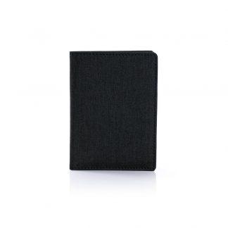 LSP0635 Snow Canvas Passport Holder