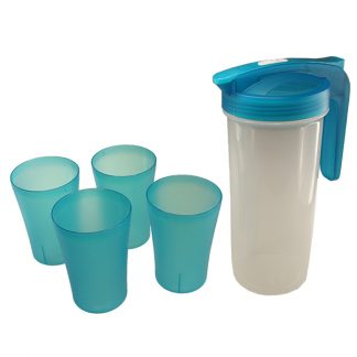 MGS0606 Plastic Pitcher with 4 Cups